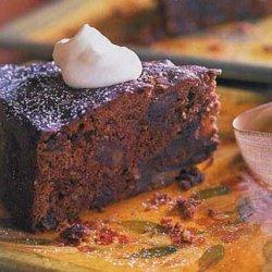 Date, Dried-Cherry and Chocolate Torte recipe