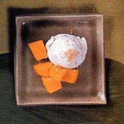 Coconut Sorbet with Mango recipe