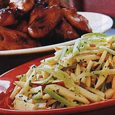 Apple and Celery Salad with Peanuts recipe