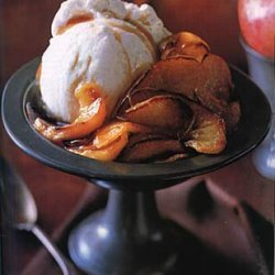 Broiled Apples with Maple Calvados Sauce recipe