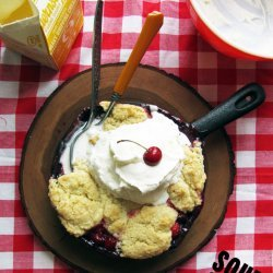 Sour Cherry Cobbler recipe