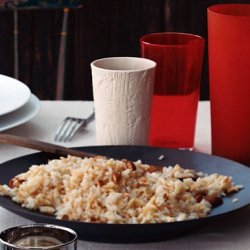 Rice and Noodle Pilaf with Toasted Almonds recipe