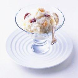 Dried Cherry and Raisin Rice Pudding recipe