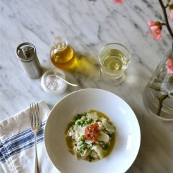 Risotto with Peas and Prosciutto recipe