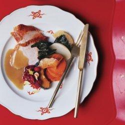Roast Turkey with Cream Gravy recipe