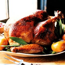 Miso-Rubbed Turkey with Turkey Gravy recipe