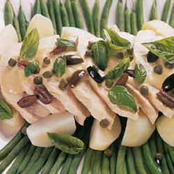 Turkey Tonnato with Potatoes and Green Beans recipe