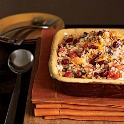 Basmati Rice Dressing with Dried Fruit, Toasted Almonds, and Coconut recipe