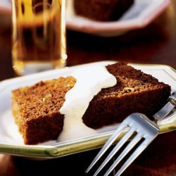 Baked Persimmon Indian Pudding recipe