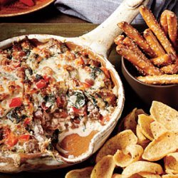 Sausage, Bean, and Spinach Dip recipe