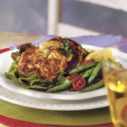 Crab Cakes With Lemon Remoulade recipe