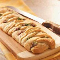 Broccoli Beef Braids recipe