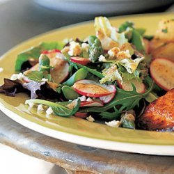 Spring Salad with Asparagus and Radishes recipe