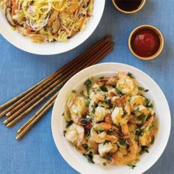 Rice Noodles with Chicken and Vegetables recipe