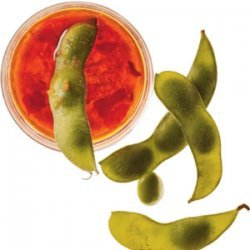 Edamame With Ginger-Chile Dipping Sauce recipe