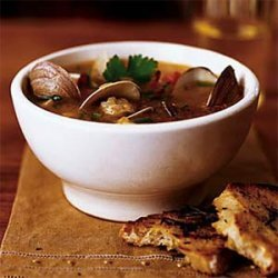 Clam Chowder with Corn recipe