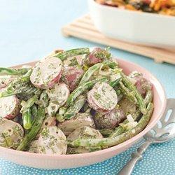 Potato and Green Bean Salad recipe