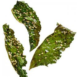 Soy and Sesame Kale Chips recipe