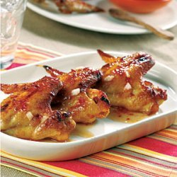 Chicken Wings with Spicy Chili Sauce recipe