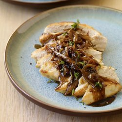 Chicken with Balsamic Vinegar, Sweet Onions and Thyme recipe