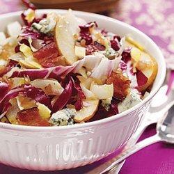 Harvest Salad with Bacon Vinaigrette recipe