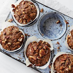Gingerbread Muffins with Spiced Nut Streusel recipe