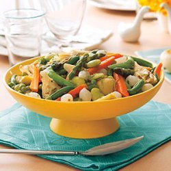 Spring Vegetables with Lemon and Tarragon recipe