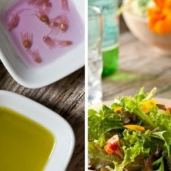 Festive Herb and Edible Flowers Vinegar recipe