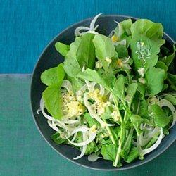 Arugula, Fennel, and Preserved Lemon Salad recipe
