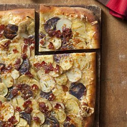 Potato, Rosemary, and Bacon Pizza recipe