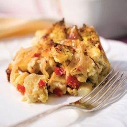 Brie-and-Veggie Breakfast Strata recipe