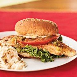 Catfish Sandwiches with Creole Mayonnaise recipe