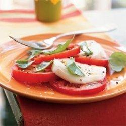 Tomato, Fresh Mozzarella, and Basil Salad recipe