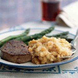 Caramelized Onion and Horseradish Mashed Potatoes recipe