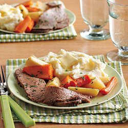 Brisket with Root Vegetables recipe