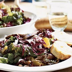 Prosciutto and Orange Salad with Comte and Toasted Pecans recipe