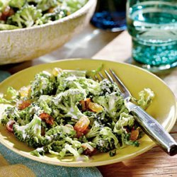 Broccoli Slaw with Candied Pecans recipe