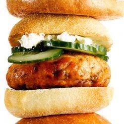 Greek Salmon Burgers recipe