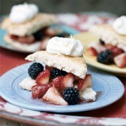 Shortcakes with Fresh Berries recipe