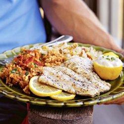 Greek Snapper on the Grill recipe