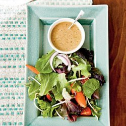 Thai Salad with Peanut Dressing recipe