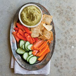 Split Pea Hummus recipe