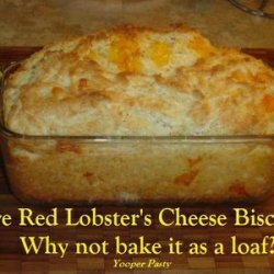 RED LOBSTER'S CHEESE BISCUIT FANS ~ recipe
