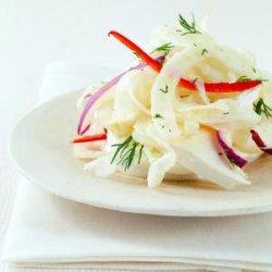 Fennel Salad with Fresh Mozzarella recipe