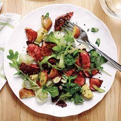 Warm Potato and Steak Salad recipe