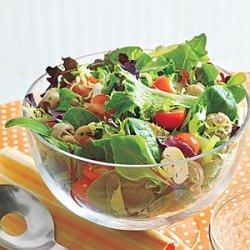 Tossed Salad with Mushrooms recipe