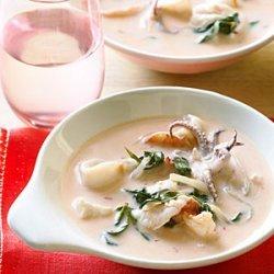 Red Curry Fish Stew with Rau Ram recipe