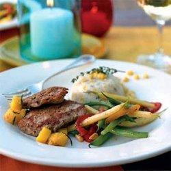 Pork Tenderloin with Fresh Mango Salsa recipe