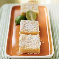 Streusel-Topped Key Lime Squares recipe