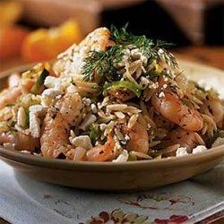 Shrimp and Fresh Herb Orzo recipe